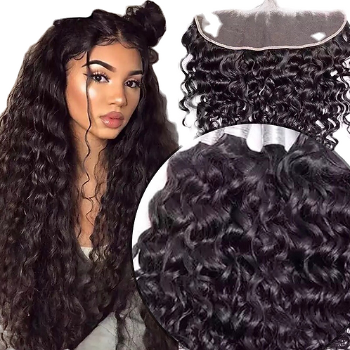 Three Bundles with Swiss Lace Frontal
