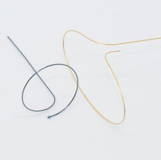 Nitinol w/ Ball, and Plated Loop