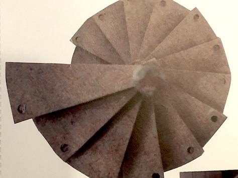 Wooden Spiral Stair Maquette