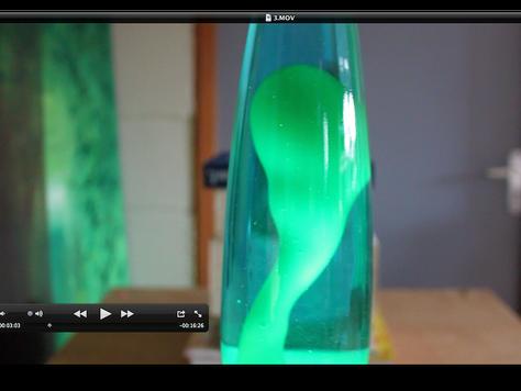Lava lamp fluid