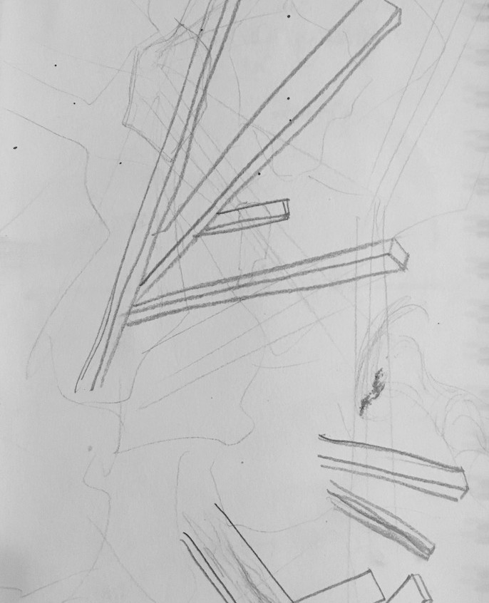 Collapse abstract sketch #5