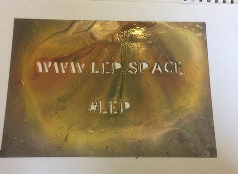 LEP website and hashtag graffiti template