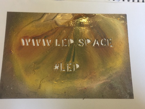 LEP website and hashtag graffiti template