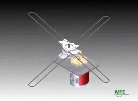 Clock-hands motor idea
