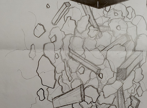 Collapse sketches/designs