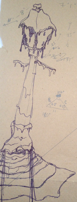 Obscurant sketch #2 detail