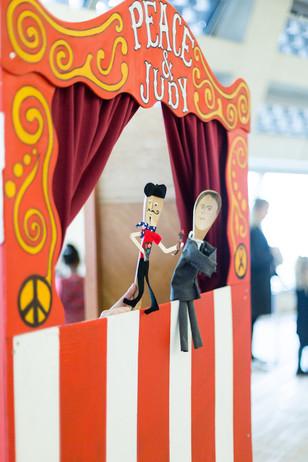 Peace & Judy stall