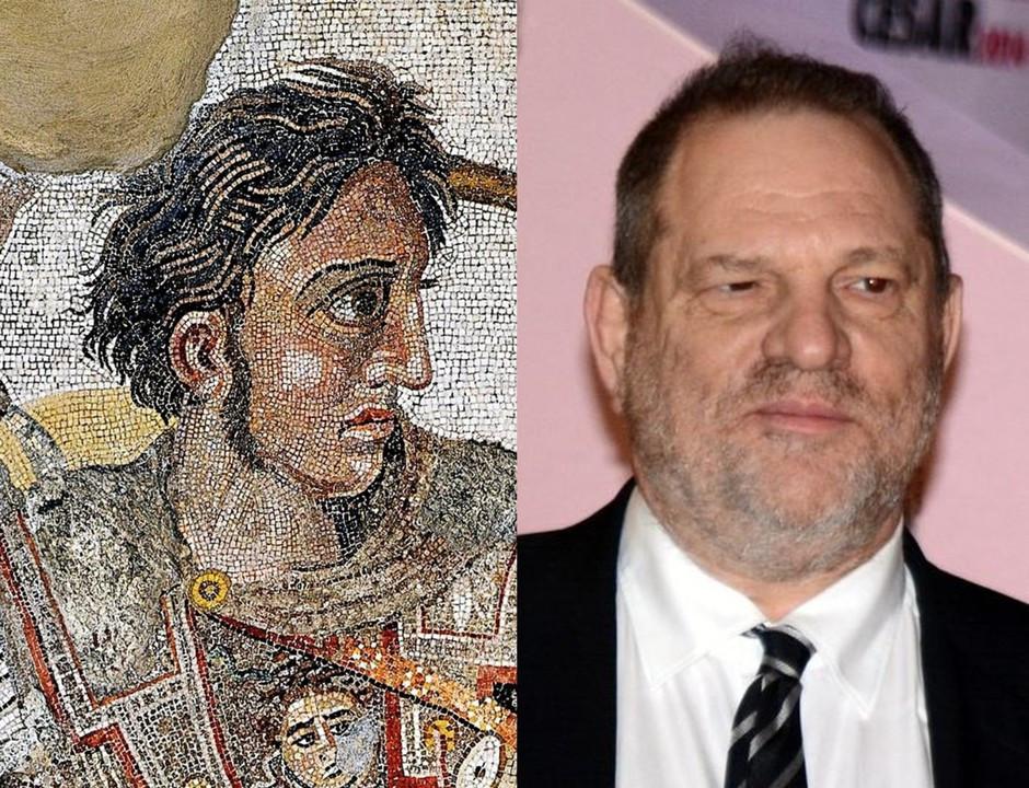 Alexander the Great; Harvey Weinstein