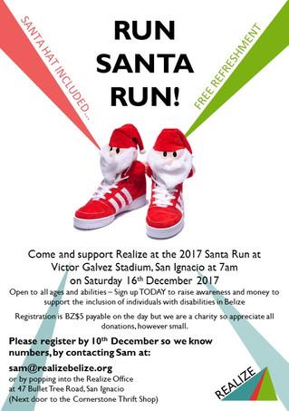 Run, Santa run!
