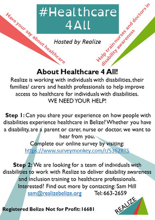 #Healthcare4All - we need your help!