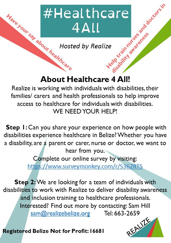 Healthcare for all - we need your help!