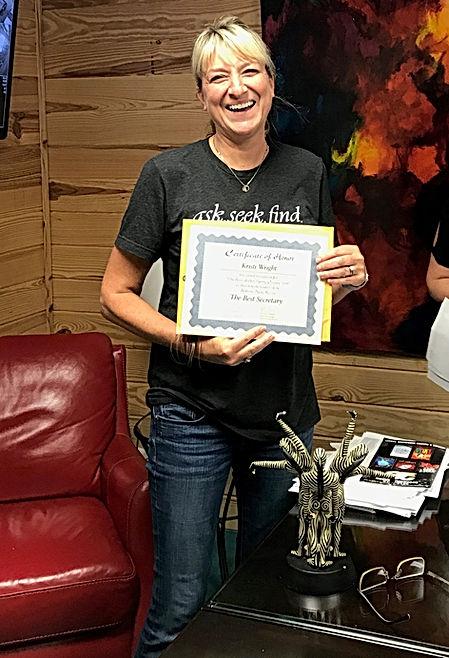 Kristi Wright Award3.JPG
