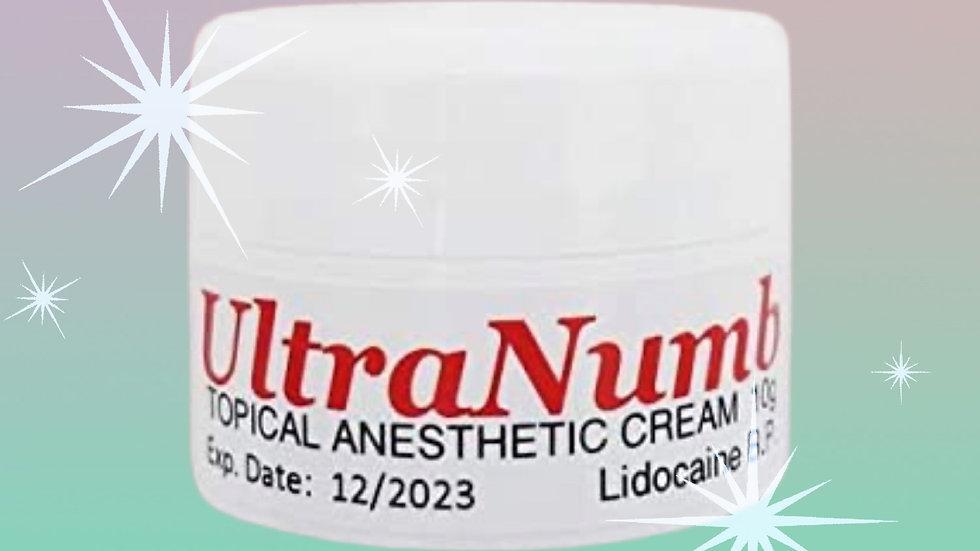 UltraNumb 5% lidocaine numbing cream - 10g