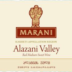 MARANI-ALAZANI VALLEY RED