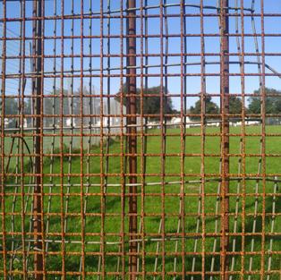 Footbal field fence