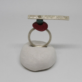 Patterned balance ring