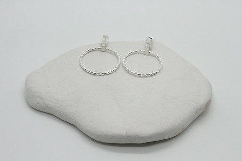 Small bubbly earrings
