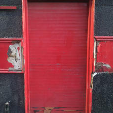Old Empire Bar door
