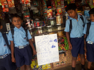 Shopkeepers going green