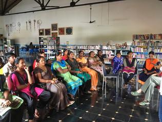 Women's livelihood program in progress