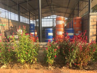 Two step Bokashi composting