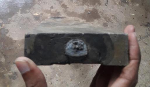 Plastic lumber cross section