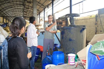 Visit to Plastic Pellet Plant