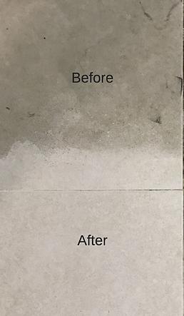 Floor tils restoration