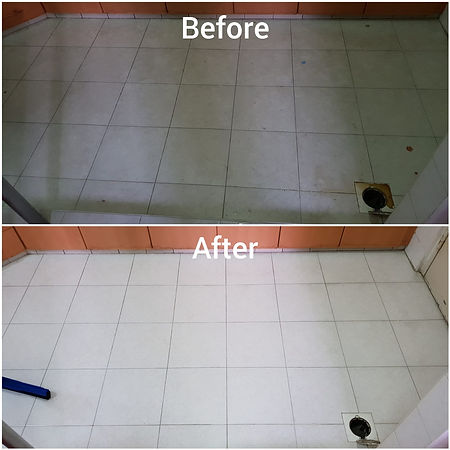 Tiles restoration