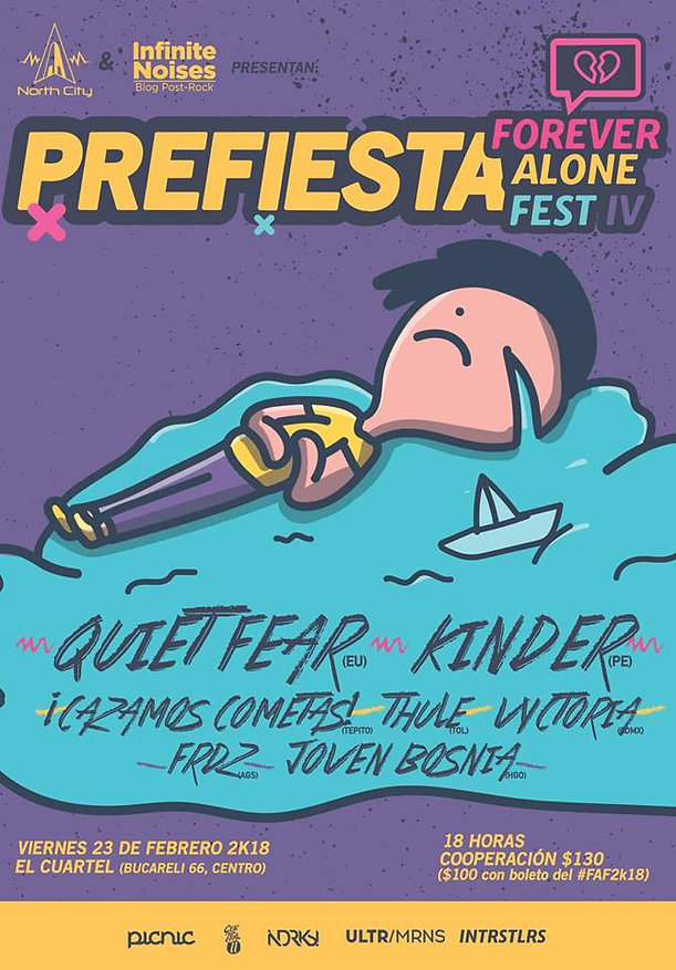 Fernandez at Forever Alone Fest | The Math Rock Times