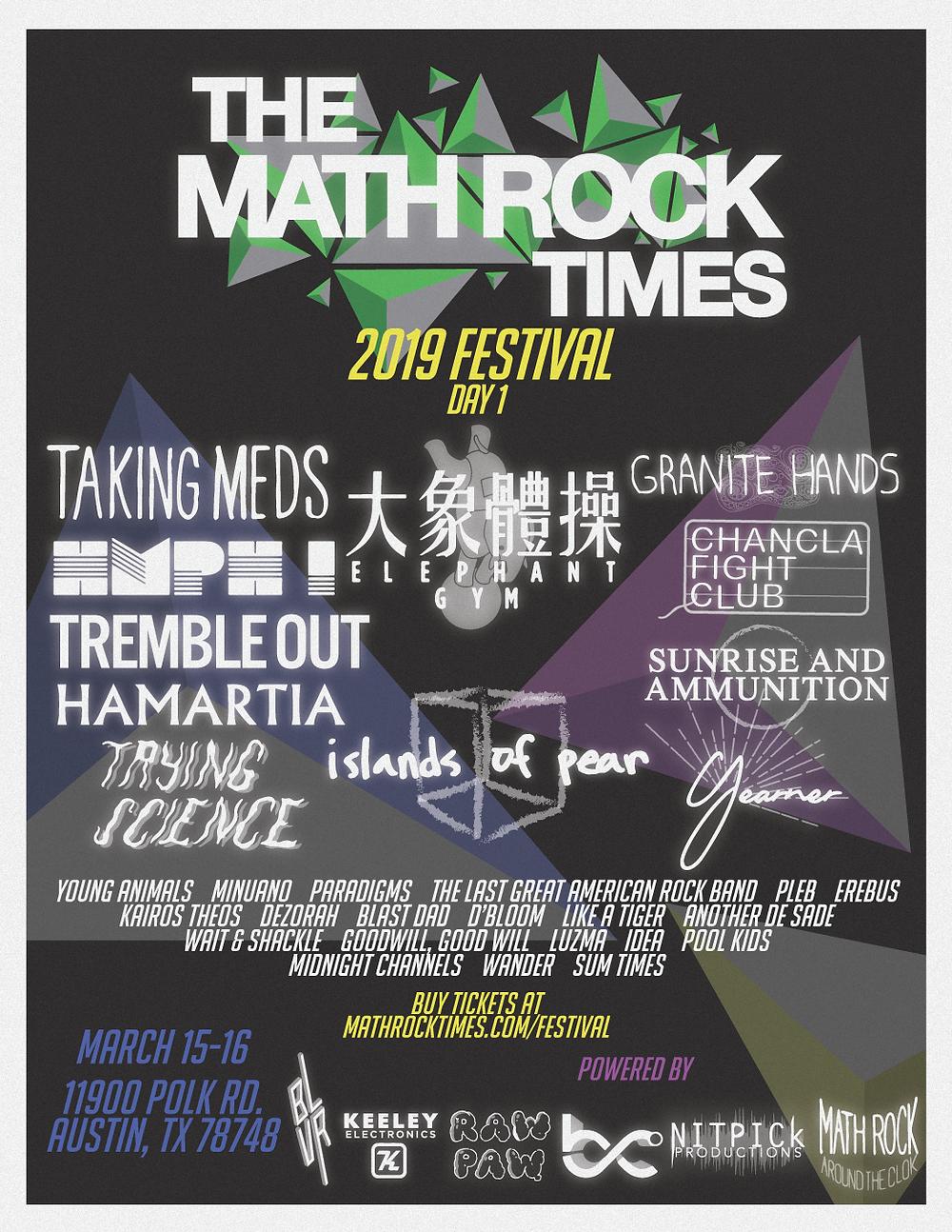 THE MATH ROCK TIMES FEST 2019