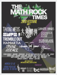 THE MATH ROCK TIMES FEST 2019