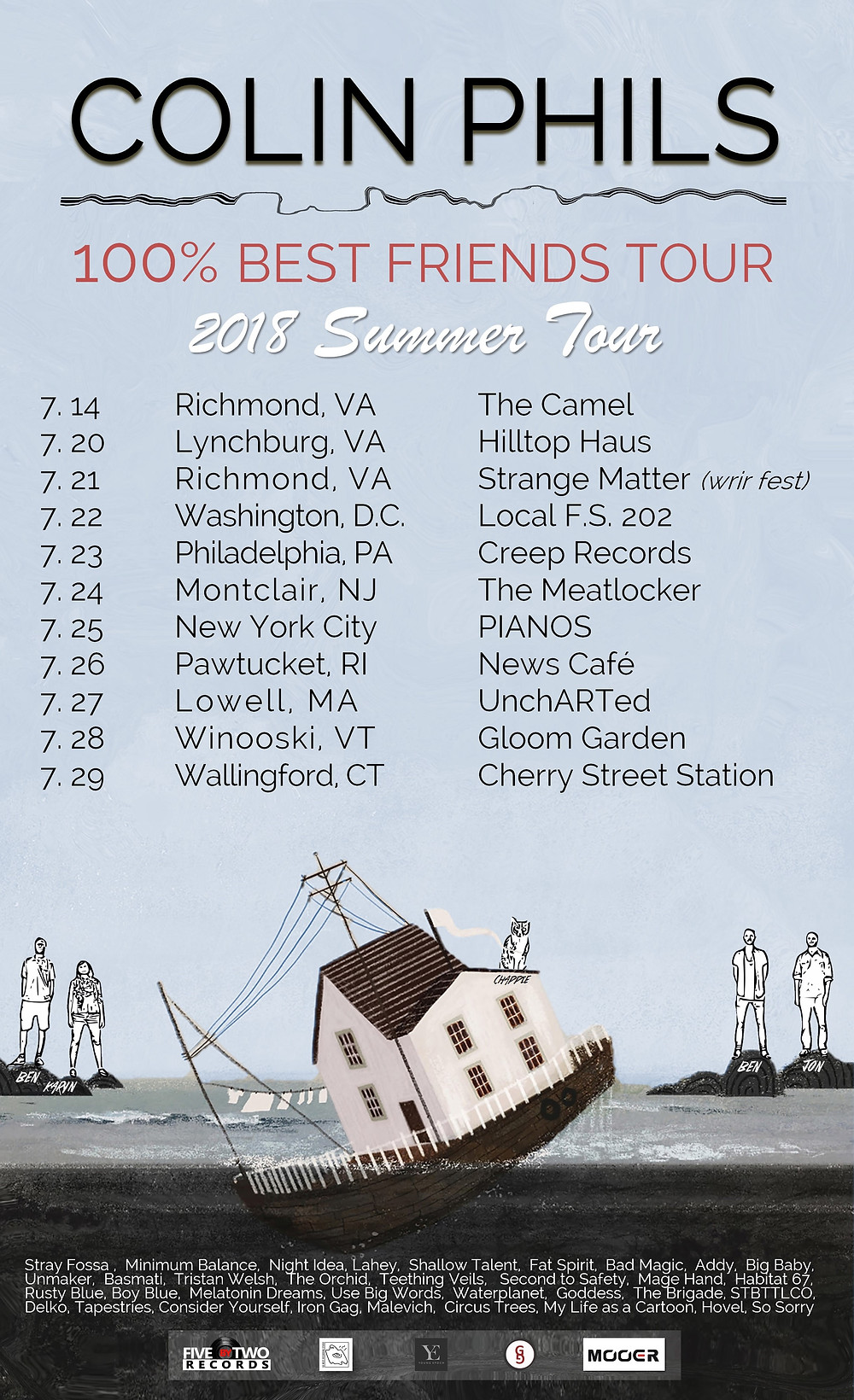 colin phils summer tour