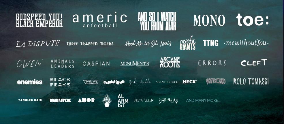 ArcTanGent 2016 lineup