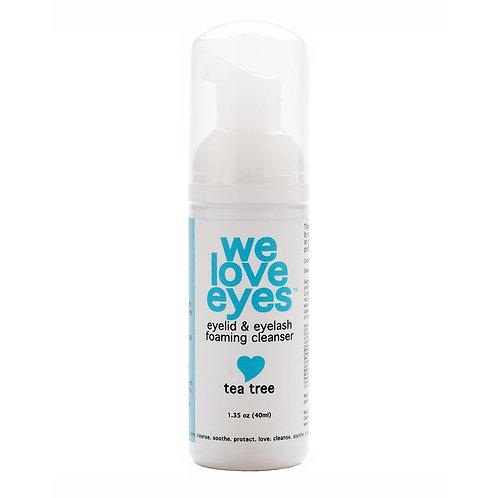 We love eyes foam