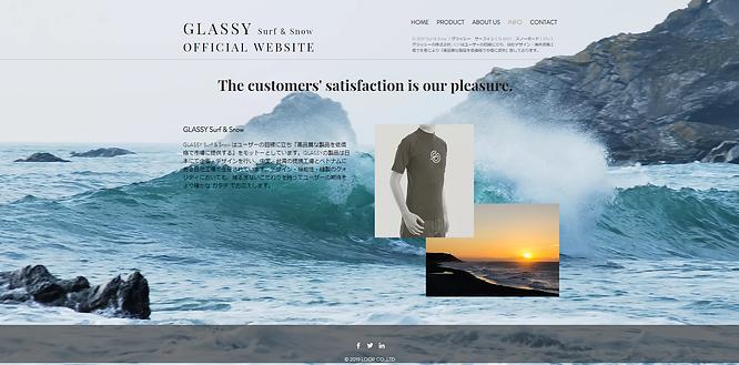 GLASSY Surf & Snow