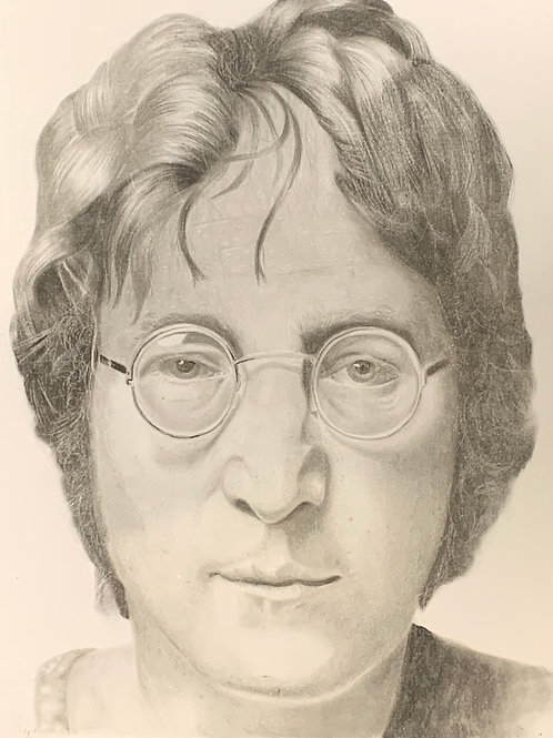 John Lennon limited edition print