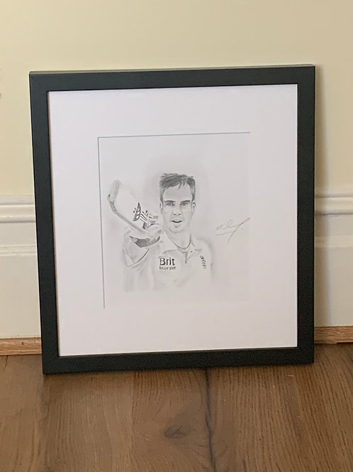 Kevin Pietersen limited edition prints