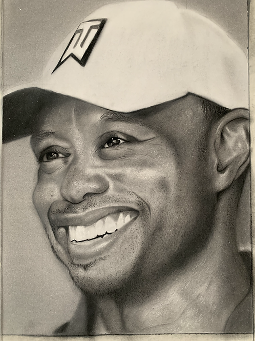 Tiger Woods limited edition prints