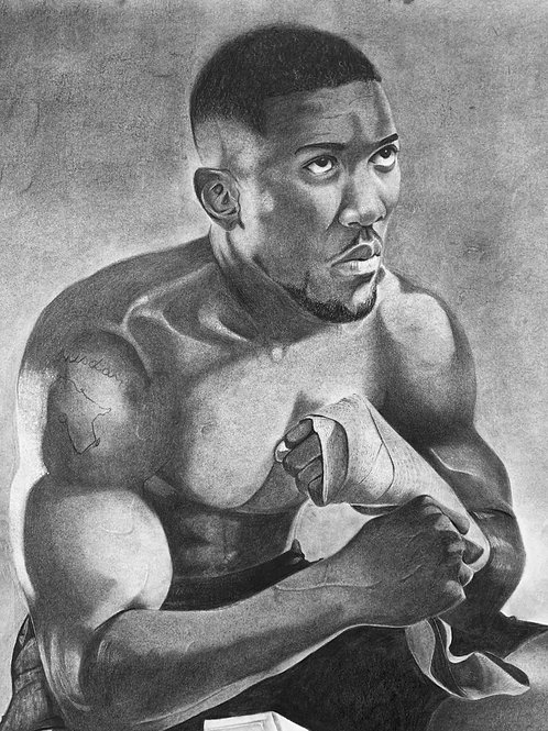 Anthony Joshua Limited Edition print