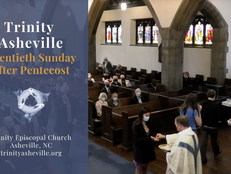 Holy Eucharist (October 10th at 10:45 a.m.)