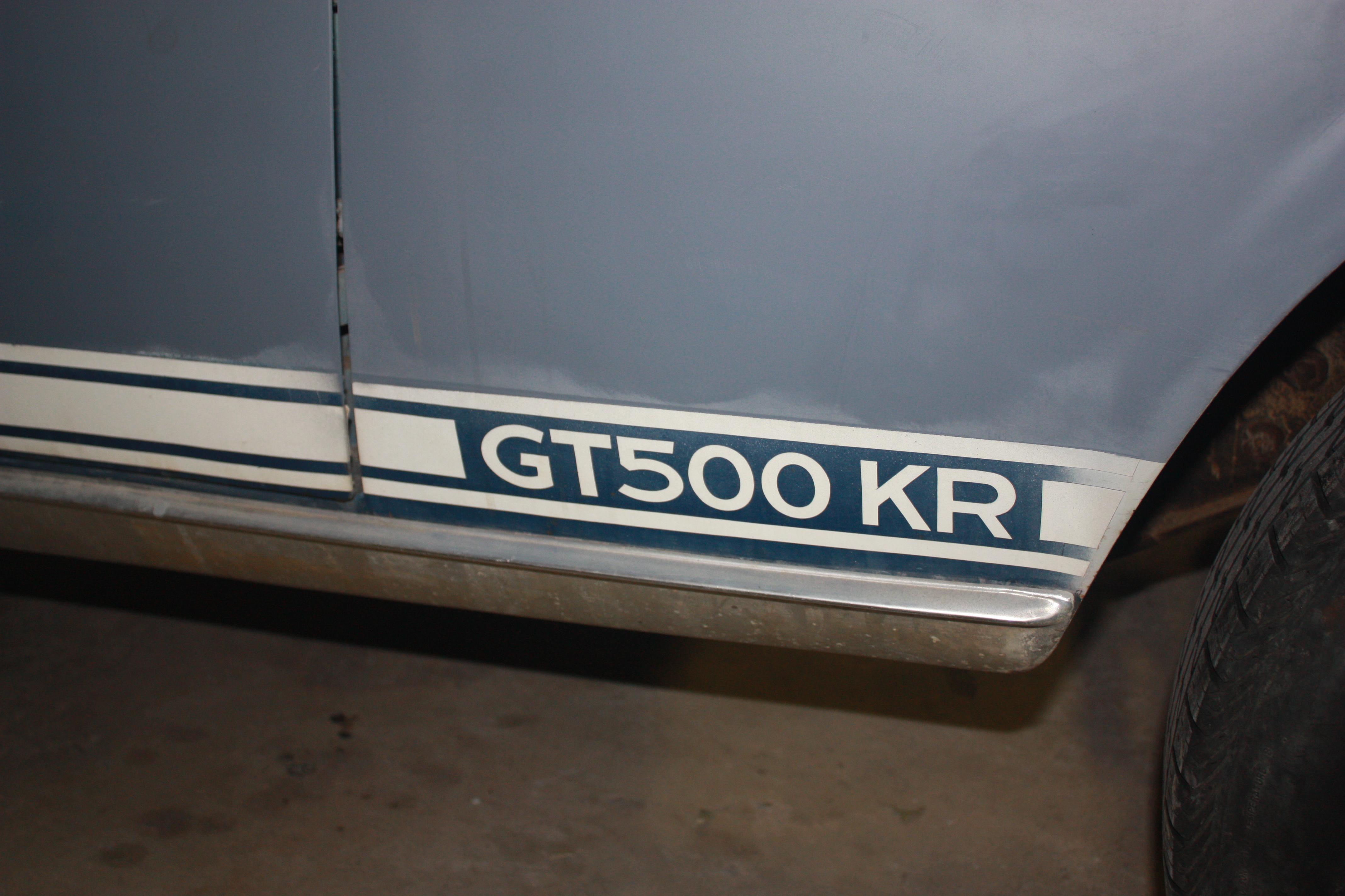GT 500 KR