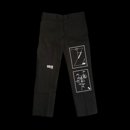 Box Design Trousers (A.058)