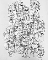ABSTRACT CROWD I