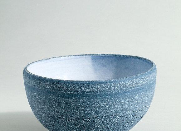 Cobalt Blue Bowl with Dolomite Glaze
