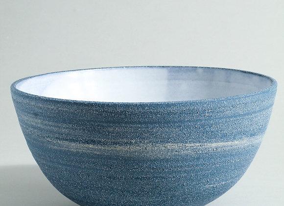 Cobalt Blue Stoneware Bowl