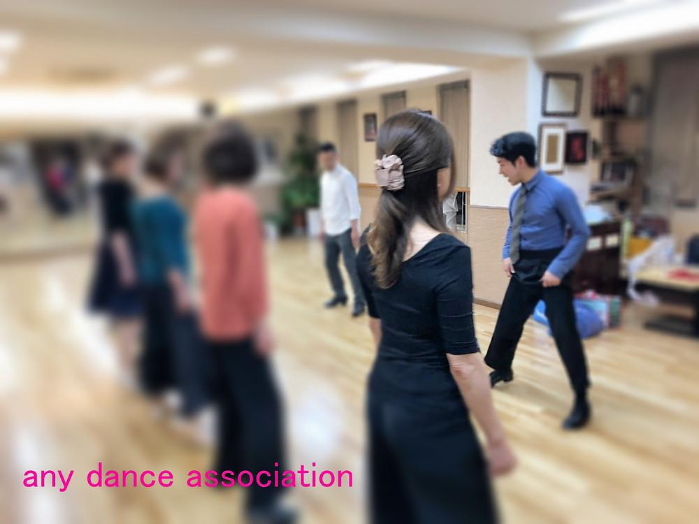 社交ダンス ダンス エニー エニーダンス 無料体験会