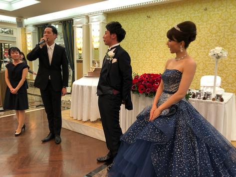 結婚式でワークショップ ルンバ