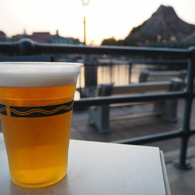 ディズニーシーでビール