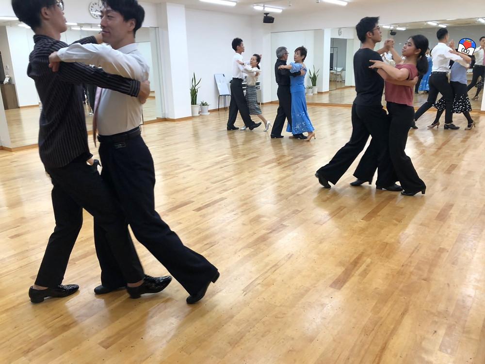 社交ダンス ダンス エニーダンス 体験会 無料体験会 大阪